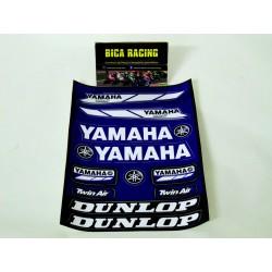 Folha de autocolantes Yamaha