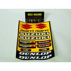 Folha de autocolantes Suzuki