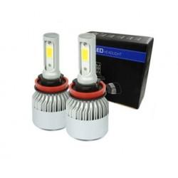 Kit de 2x lampada LED H9 /...