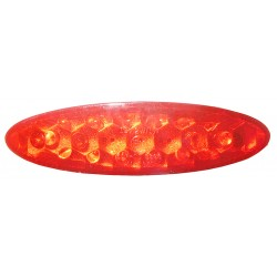 Farolim Oval 15 LED lente...
